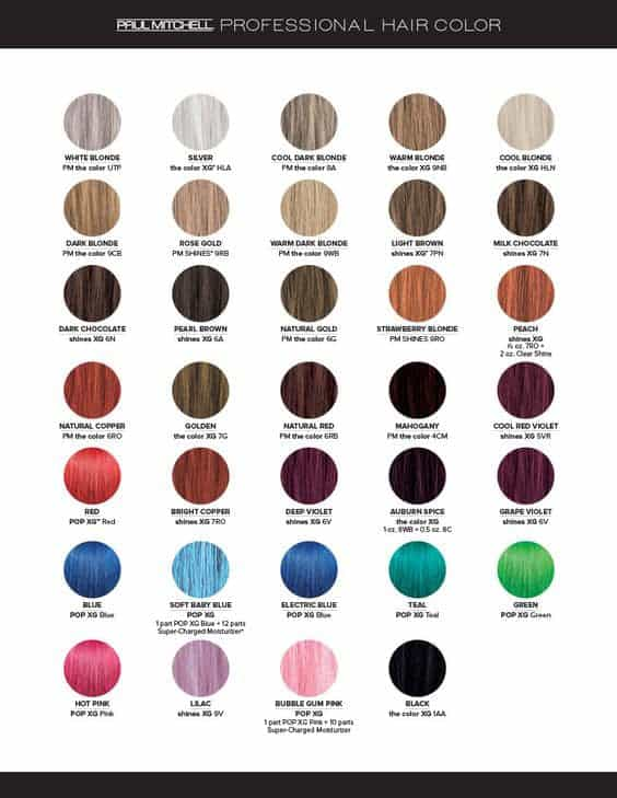 Vibrant Red Hair Color Formulas Beautiful For Hairdressers Of
