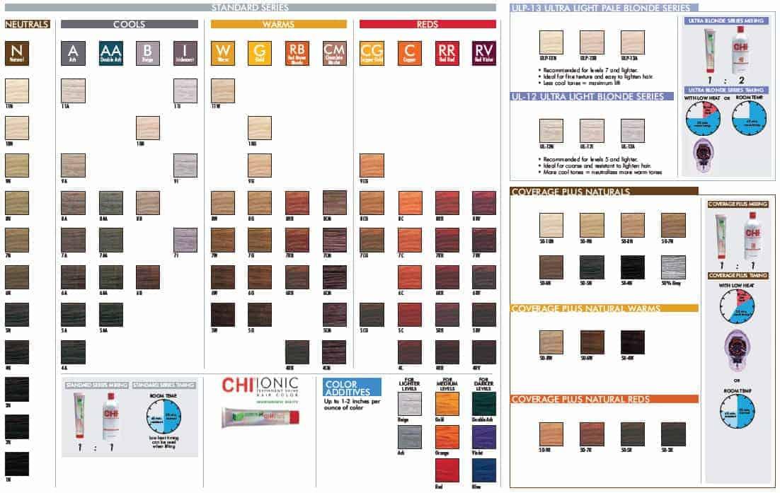 Chi Ionic Ammonia Free Permanent Shine Hair Color