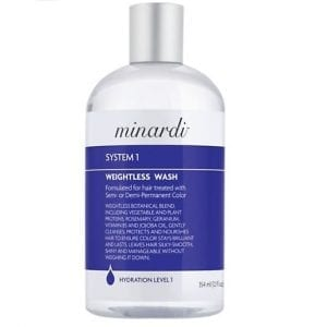 color, shampoo, hair loss - purefina Color, Shampoo, Hair Loss – Purefina Minardi System 1 Weightless Hair Wash 300x300